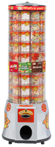 We Can Supply Tubz Sweet Vending Tower To Sites In Bradford, Leeds, Pudsey, Wakefield, Halifax, Keighley, Shipley, Bingley And Surrounding Areas