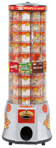 Tubz Jelly Bean Campaign Tower